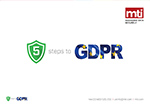 5 steps to gdpr brochure for MTI